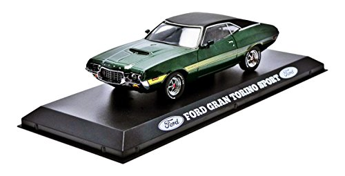 Greenlight Collectibles - 86305 - Ford Gran Torino - 1974 - Echelle 1/43 - Vert
