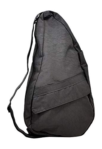 AmeriBag Classic Distressed Nylon Healthy Back Bag Medium (Stormy Grey)