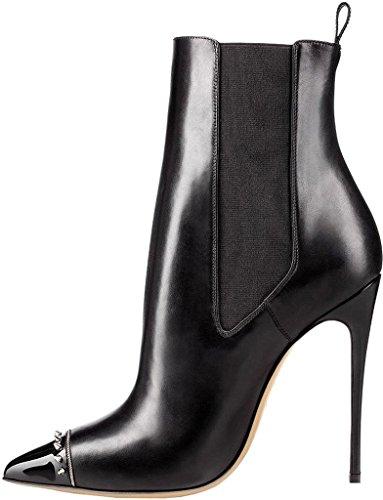 Women's Boots Caeasily Caeasily Black Women's Calaier Boots Calaier Black SnqXx7
