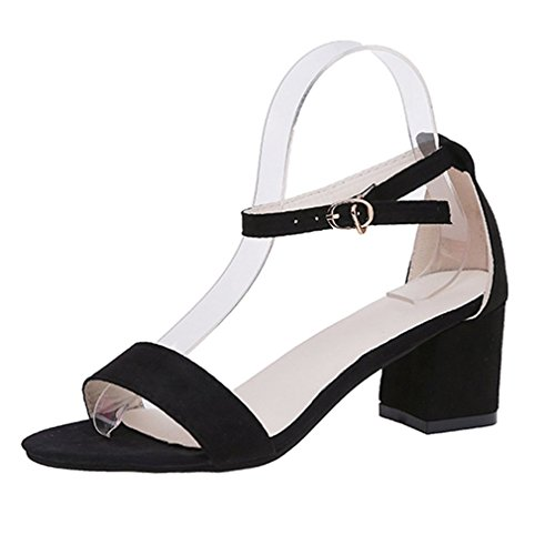 Summer Lady Talons Moyens Chaussures Bride