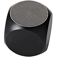 Matrix Audio Qube Rechargeable Mini-Speaker for Universal 3.5mm Devices - Black (MQUBEBKA)