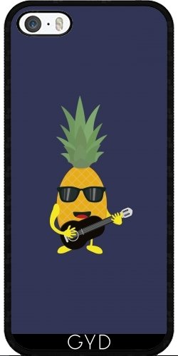 Coque pour Iphone SE - Rock 'n' Roll Ananas by ilovecotton