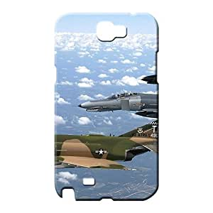 samsung note 2 Nice PC phone Hard Cases With Fashion Design phone carrying case cover vehicles f4 phantom