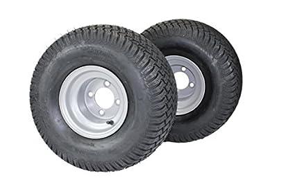 Amazon.com: (juego de 2) 20 x 10.00 – 8 neumáticos y ruedas ...