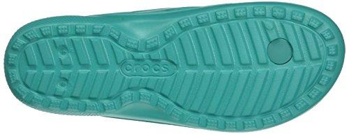 Crocs Classic Flip, Infradito Unisex - Adulto, Blu (Tropical Teal)