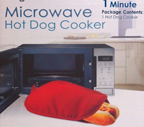 Microwave Hot Dog Cooker Bag