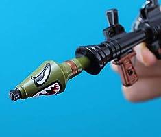 Game Fortnite Key Chain Shark Rocket Toy Model Keychain Toy