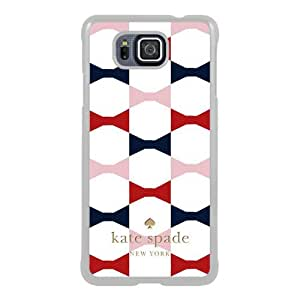 customized Samsung Galaxy Alpha Case Cover, Fashion Stylish DIY Kate Spade 68 White Case Cover For Samsung Galaxy Alpha