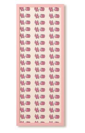 手ぬぐい額 カラータイプ (ピンク) B008CMNQOU ピンク ピンク