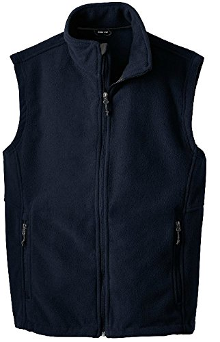 Joe's USA(tm - Men's Soft and Cozy Fleece Vest in Men's Sizes XS-6XL True Navy