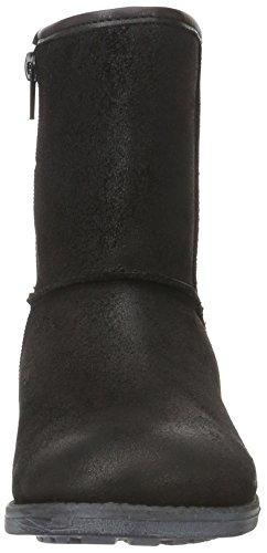 Bullboxer AGU501E6C, Mädchen Kurzschaft Stiefel Schwarz (BLCK)