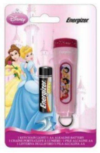 Energizer Novelty LED Keychain Light, Disney Princess