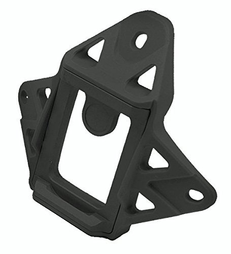 DLP Tactical Low Profile 3-Hole Hybrid NVG Mount Shroud for ACH / MICH / OPS-Core FAST / Crye AirFrame Helmet (Black) by DLP Tactical