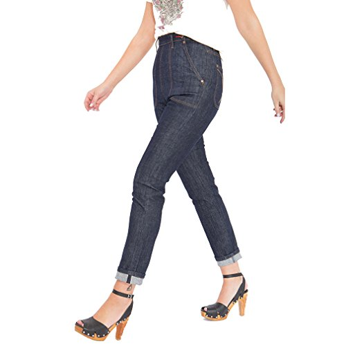 Queen Selvedge Jeans Wash Raisin Pantaloni Kerosin v1vxr0p