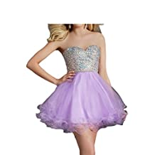 Angel Bride 2016 Ball Gown Sweetherat Cocktail Prom Dresses Tulle Mini Bubble Skirts