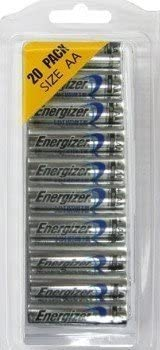 20-Pack Energizer Advanced Lithium AA Batteries