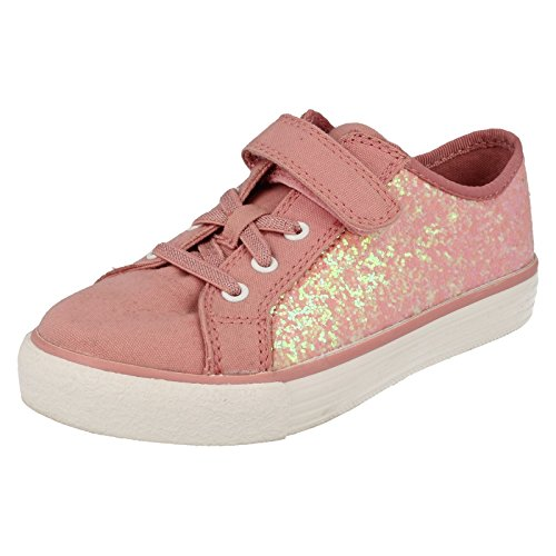 Clarks BrillPrize Inf Mädchen Sneakers Rose