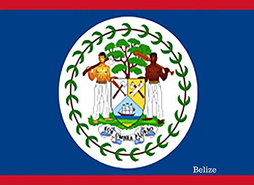 Belize: Patriotic Country National Flag Gift Journal Notebook