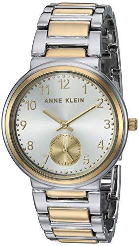 Anne Klein Dress Watch (Model: AK/3407SVTT) (Arabic Watch)