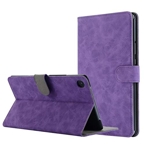 Price comparison product image Dreamyth 8.4 inch Huawei MediaPad M5 Leather Stand Protective Case Cover (Purple)
