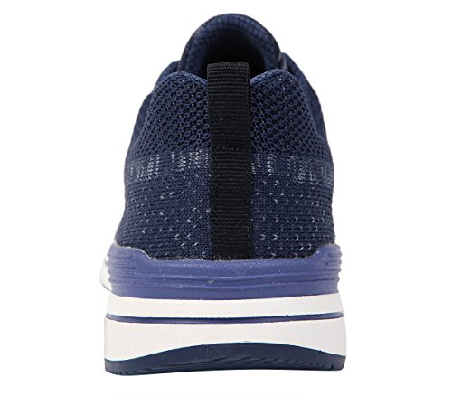 Running New Up Sneaker Mens Fashion Summer Breathable Style Lace Mesh Blue Serene RqzUCwxBx