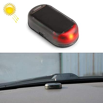 HKY-LIGHT Bombilla de Coche LQ-S10 Car Solar Power simulado ...