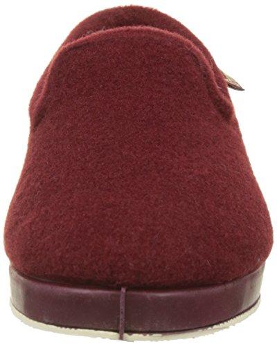 Copete Victoria Wamba Estar Rouge F By De Casa borreguillo burdeos Zapatillas Picos Por Para Mujer qw5EBC