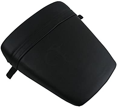 Motorcycle Black Seat Cover Rear Passenger Cushion Rear Pillion Seat Cowl For Yamaha YZF R6 1999-2002