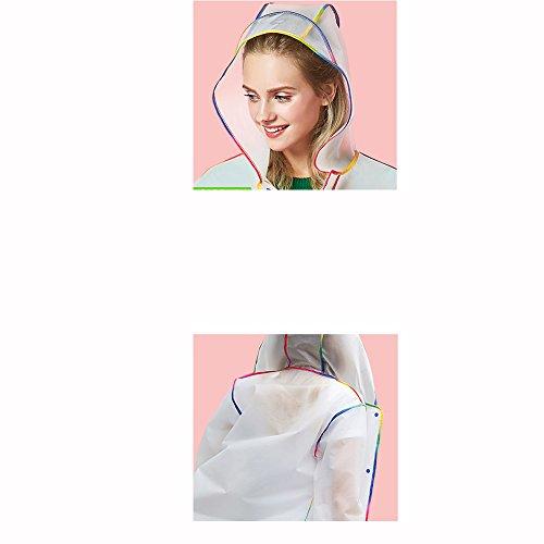 Impermeabile Arrampicata donne e C Colore Opzionale Dimensioni yuyi all'aperto Hat viaggio impermeabile Impermeabile Big Impermeabile lungo singolo Uomini opzionali 5 Poncho adulti da Colori C ZZHF OzxP8