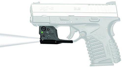 Viridian Reactor TL Gen 2 Tactical Pistol and Handgun Light, Radiance Lighting, w/ INSTANT-ON Holster (Springfield - The On Tl