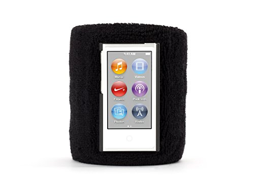 Griffin Black SportCuff Wristband case for iPod Nano (7th gen.) ()
