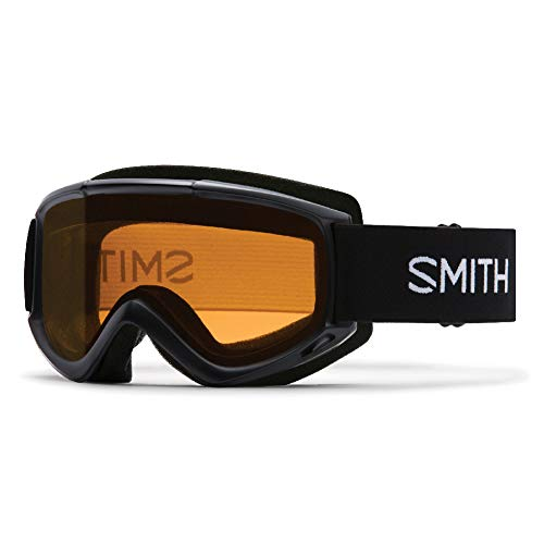 Goggles Classic Black - Smith Optics Adult Cascade Classic Snow Goggles Black Frame/Gold Lite