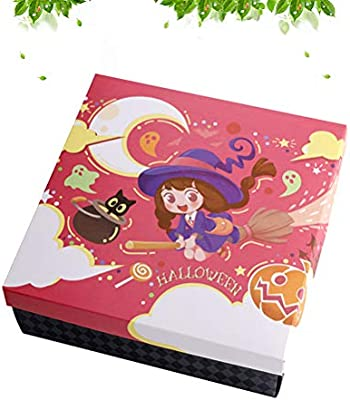 BESTonZON - Cajas de Embalaje portátiles de Halloween para ...