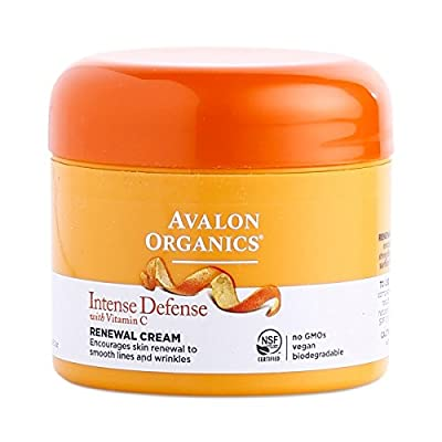 Avalon Active Organics Vit C Renewal Cream, 2 Oz