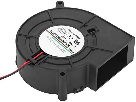 iFCOW Ventilateur d'air pour barbecue 12 V 2,85 A