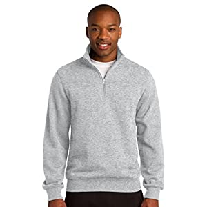 Sport-Tek Men's Colorfast 1/4-Zip Wiastband Sweatshirt