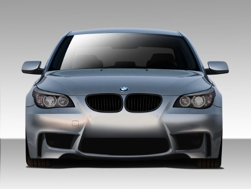 Duraflex ED-XEB-458 1M Look Front Bumper Cover - 1 Piece Body Kit - Compatible For BMW 5 Series 2004-2010