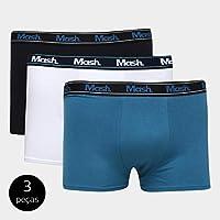 Kit de Cuecas Mash Boxer Básico 3 Peças