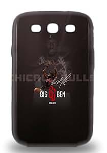 Galaxy Durable Protection 3D PC Case Cover For Galaxy S3 NBA Chicago Bulls Ben Wallace #3 ( Custom Picture iPhone 6, iPhone 6 PLUS, iPhone 5, iPhone 5S, iPhone 5C, iPhone 4, iPhone 4S,Galaxy S6,Galaxy S5,Galaxy S4,Galaxy S3,Note 3,iPad Mini-Mini 2,iPad Air )