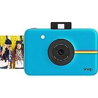 Cámara digital instantánea Polaroid Snap (azul) con tecnología de impresión Zink Zero Ink