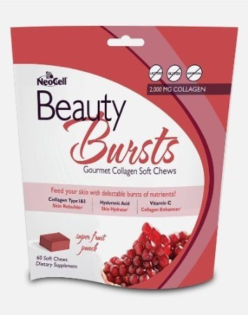 Neocell Laboratories, Beauty Burst,Fruit Punch — 60 Chew, Health Care Stuffs