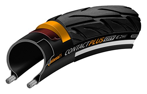- Continental Country Plus Travel ETRTO (50-559) 26 x 2.0 Reflex Bike Tires, Black