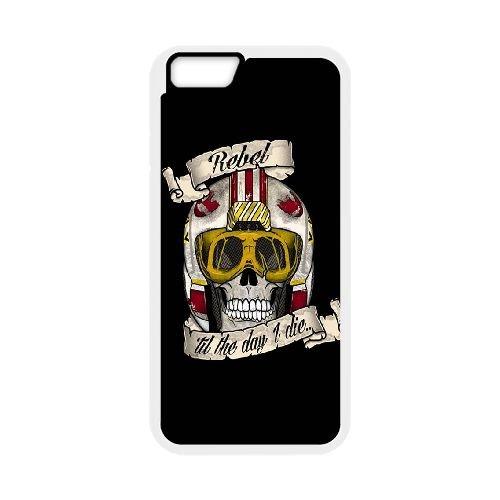 Star Wars Rebel coque iPhone 6 Plus 5.5 Inch cellulaire cas coque de téléphone cas blanche couverture de téléphone portable EEECBCAAN00033