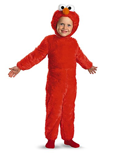 Easy Character Day Costumes (Elmo Comfy Fur Costume - Medium (3T-4T))