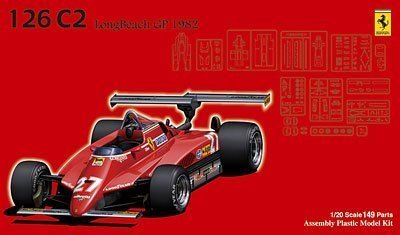 1/20 Ferrari 126C2 Long Beach GP 1982 Skeleton Body Fujimi GPSP3