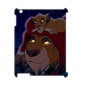C-EUR Lion King Pattern 3D Case for iPad 2,3,4