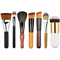 Tenozek 7-Piece Foundation Cheek Color Applicator Contour Makeup Brush Set