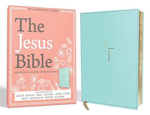The Jesus Bible, NIV Edition, Imitation Leather, Blue