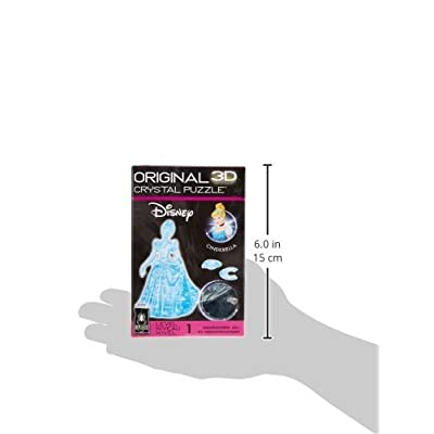 Original 3D Crystal Puzzle - Cinderella: Toys & Games