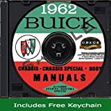 1962 Buick Chassis Shop Repair Service Body Manuals on CD 62 (Includes Key Chain)